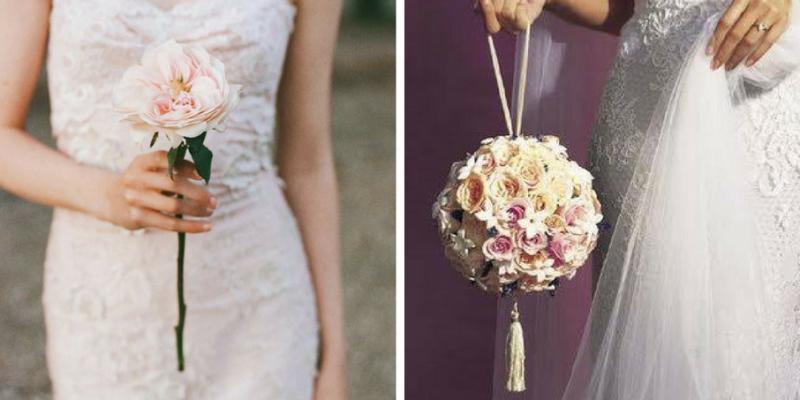 Chi Porta Il Bouquet Alla Sposa.Single Flower E Pomander I Bouquet Da Sposa 2017 Atelier