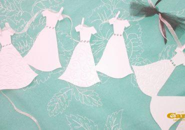 Prova dell'abito da sposa: come scegliere le accompagnatrici