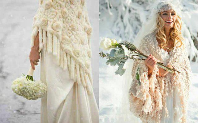 all'ingrosso online a basso prezzo nuovo prodotto Abito da Sposa Invernale: Tendenze e Accessori Glamour ...