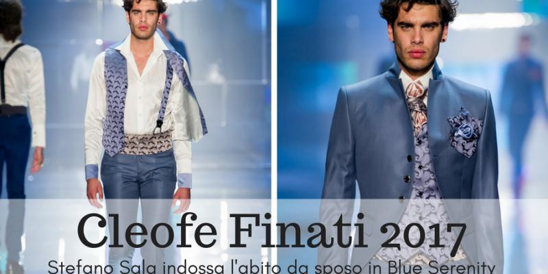 Stefano Sala indossa un abito Cleofe Finati
