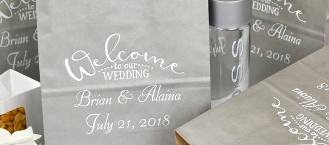 Wedding welcome bag: un regalo per i tuoi invitati